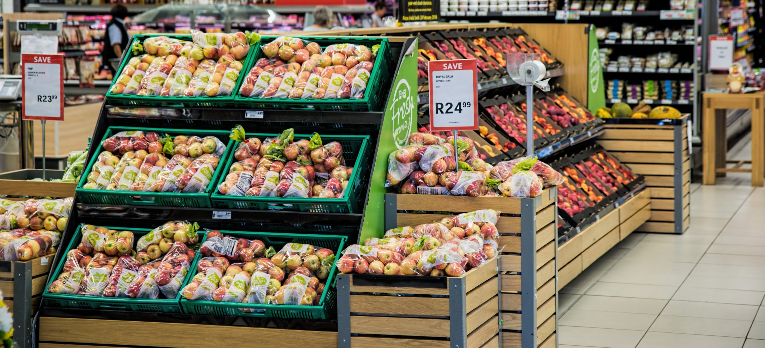 Grocery, Store, Apples, Food, Monitoring, Alerting
